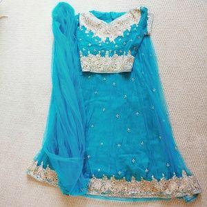 Blue Choli